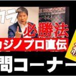 【Q&A】バカラ必勝法動画に関する質問コーナー!